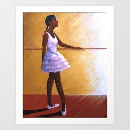The Young Ballerina Art Print