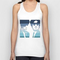 blues brothers Tank Tops featuring Blues Brothers (Tribute) by Kerosene Bill