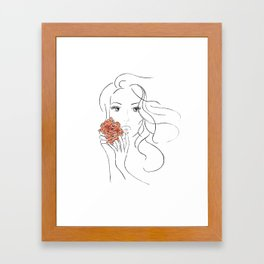 Beauty Blossom Framed Art Print