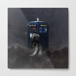 TARDIS DOCTOR WHO NEBULA Metal Print