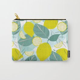 Lemons and Slices Carry-All Pouch