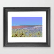 Chromascape 5: Formentera Framed Art Print