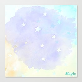 Magic Stars Canvas Print