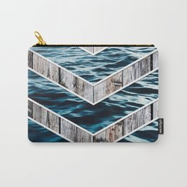 Striped Materials of Nature III Carry-All Pouch