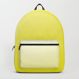 Simply sun yellow color gradient- Mix and Match with Simplicity of Life Backpack