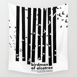 Birdman of Alcatraz Wall Tapestry