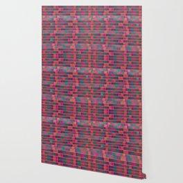 """Full Color Squares Pattern"" Wallpaper"