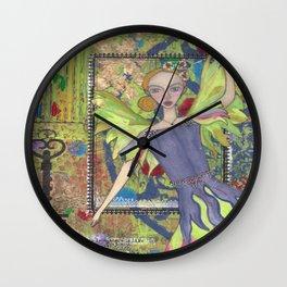 Fairy Queen, Dancing Wall Clock