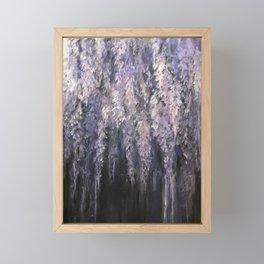 Wisteria Framed Mini Art Print