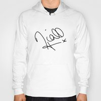 niall horan Hoodies featuring Niall Horan - One Direction by Moments Design