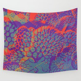 psychedelic beauty Wall Tapestry