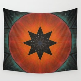 Sol Fire Wall Tapestry