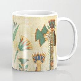 Egyptian paper papyrus hieroglyphs Coffee Mug