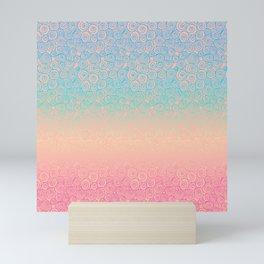 Spiral Ombre Luminosity Mini Art Print