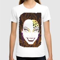 bianca green T-shirts featuring The panther, Bianca  by Francine Oliveira