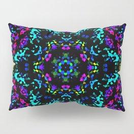 Rainbow Kaleidoscope 3 Pillow Sham