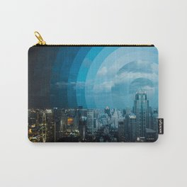 Day to Night Cityscape Carry-All Pouch