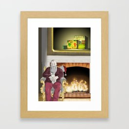 No.6 Christmas Series 1 - The Later Years Framed Art Print
