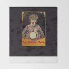 The Fortune Teller Throw Blanket