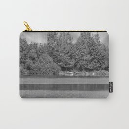 Boats at a lake Carry-All Pouch