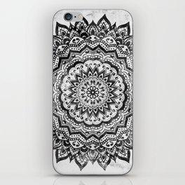 BLACK JEWEL MANDALA iPhone Skin