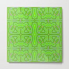 L - pattern c Metal Print