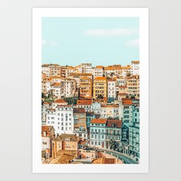 The Town #photography #travel Art Print