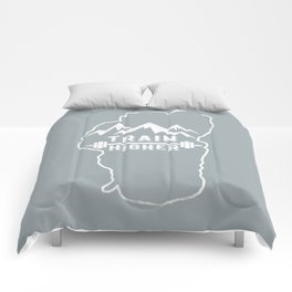 Train Higher Tahoe Comforters