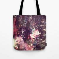lightning Tote Bags featuring lightning by christine nissen