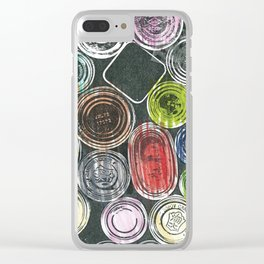 The painter's stuff Clear iPhone Case