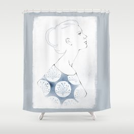 Delia Shower Curtain