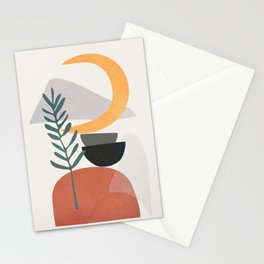 Abstract Shapes No.25 Stationery Cards