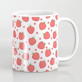 pattern with strawberries Coffee Mug