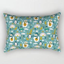 Aquatic Life - The Polar Story Rectangular Pillow