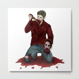 Cain!Dean Metal Print