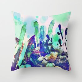 Underwater World 2 Throw Pillow