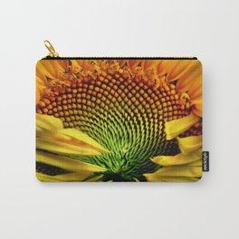 Fibonacci's Sunflower Carry-All Pouch