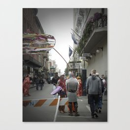 Iberville, 2011.  New Orleans, LA. Canvas Print