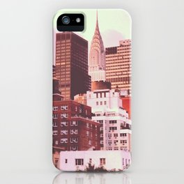 Chrysler Building from 2nd Ave iPhone Case