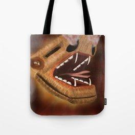 Atttack of the snake dragon Tote Bag