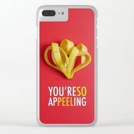 You're So Appeeling Clear iPhone Case