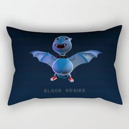 Blood Desire Rectangular Pillow