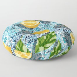 Sweet just isn't as sweet without the sour #painting Floor Pillow
