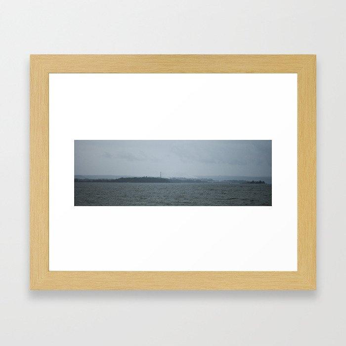 Coast Framed Art Print