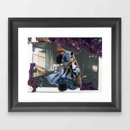 Tyger Framed Art Print