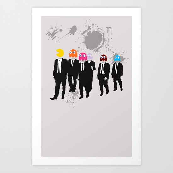 Reservoir Ghosts Art Print