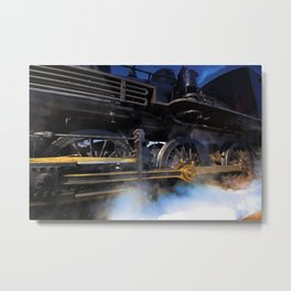 All Aboarrrrrd! Metal Print