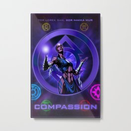 The Lantern Corps - Compassion Metal Print