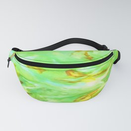 Neon Green Coral Fanny Pack