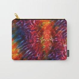 Vibrant Hippy Tye Dye Carry-All Pouch